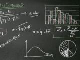 tableau noir avec formules