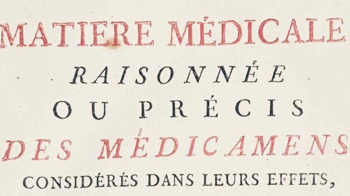 Bourgelat matière médicale phytothérapie ?